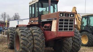 International 4586 4wd Tractor