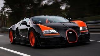 Dünyanın En Hızlı Arabaları - Bugatti Veyron | ARABA UÇUYOR!