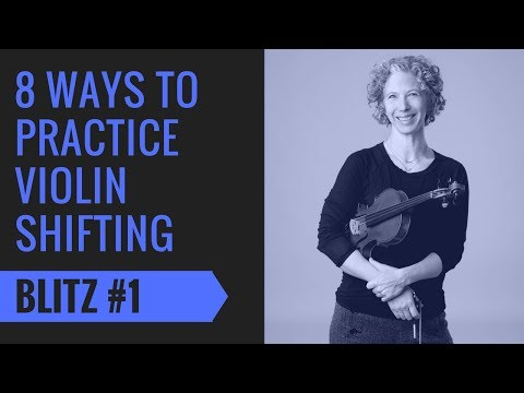 Violin Shifting Blitz 1: Intro & Shifting Fingers