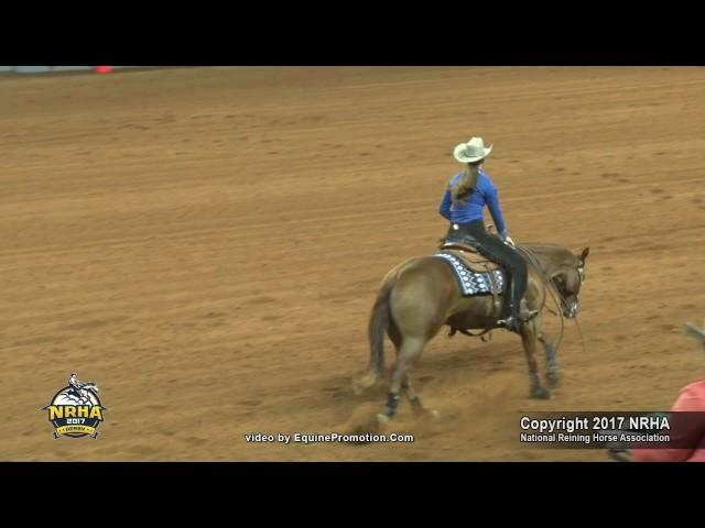 Mattie Gustin - Guns R Spooky - NRHA Derby 2017