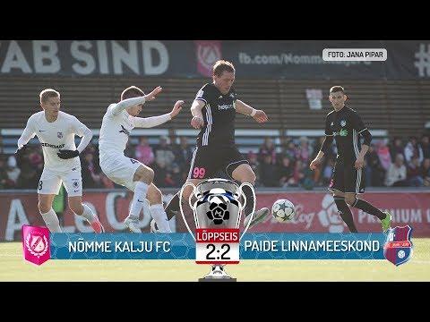 34.voor 2017: Nõmme Kalju FC - Paide Linnameeskond  2:2 (0:1)