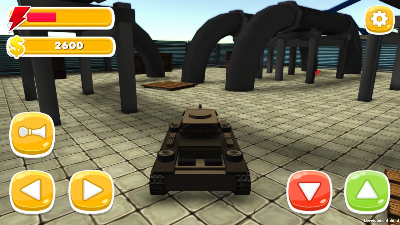 Toy Car Simulator Arena Free Ride Mode Playing With Panzer