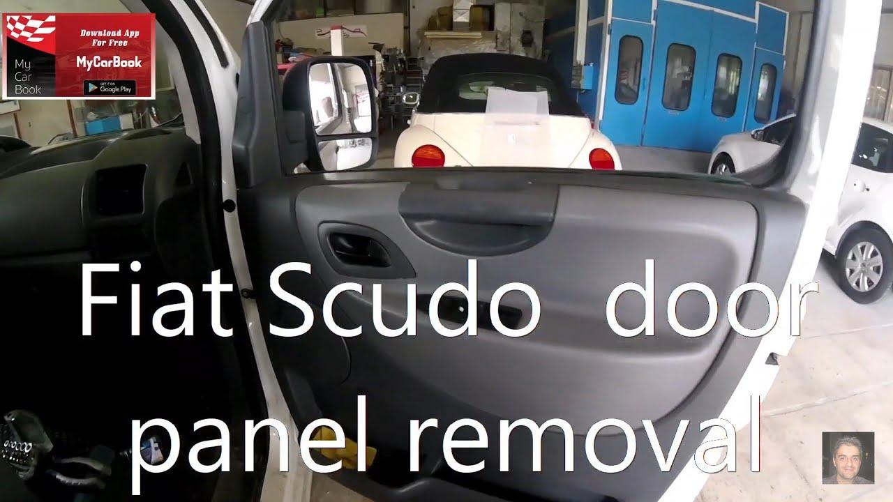 Chrome Door Handle Cover 4 doors Fiat Scudo 2007 onwards