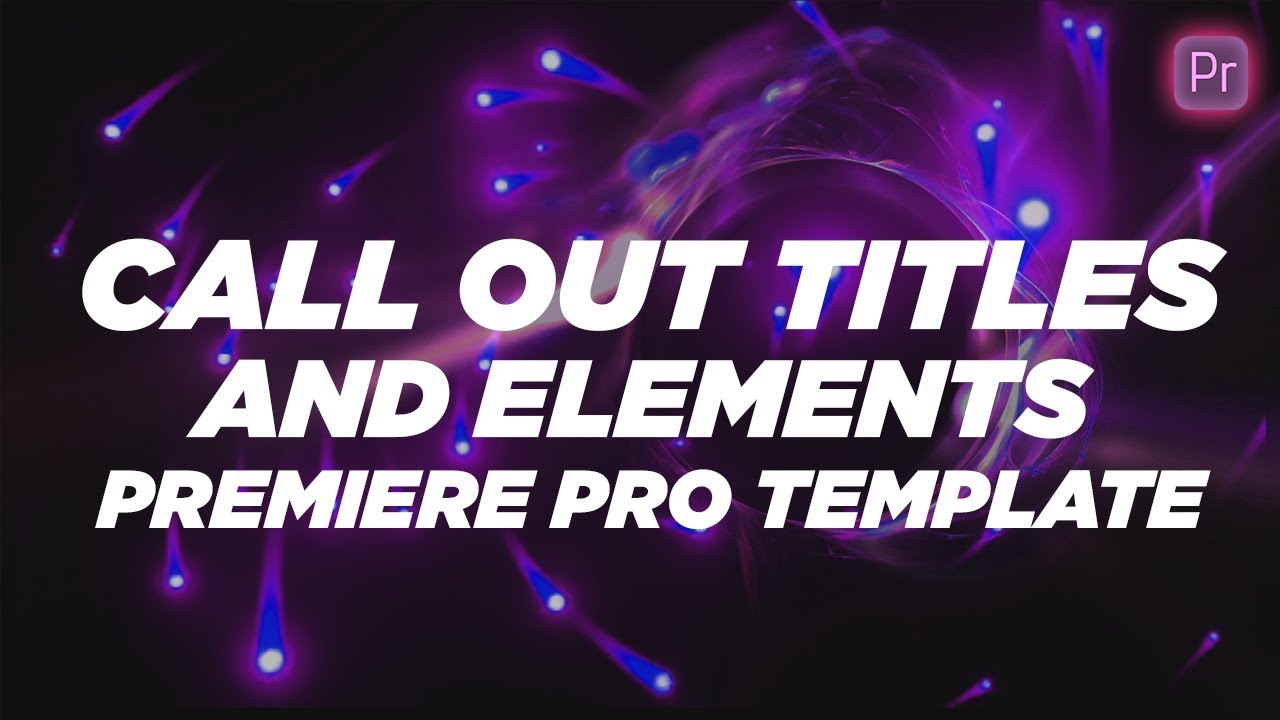 Call Out titles And Elements Free Mogrt Download Premiere Pro Template