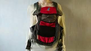Обзор рюкзака-кенгуру для переноски ребенка от Pierre Cardin (слинг для малыша от Пьера Кардена)
