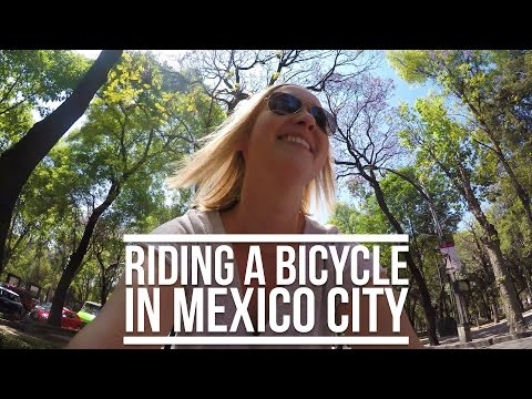 RIDING A BICYCLE IN MEXICO CITY | Eileen Aldis