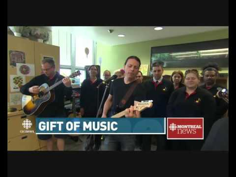 Music is the Medicine Donation and Anthony Gomes - CBC News Story