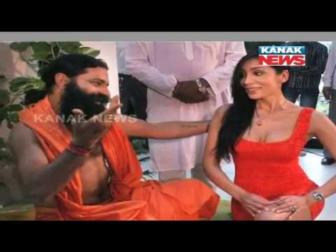 Photos of Baba Ramdev With Girls Go Viral In Social Media, VHP Members File  Complaint