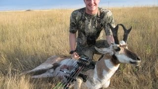 Public Land Antelope bow hunt in South Dakota