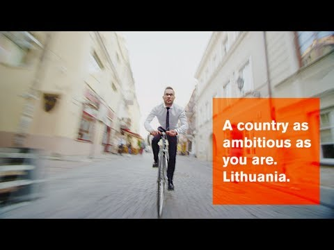 A country as ambitious as you are. Lithuania. [EN]