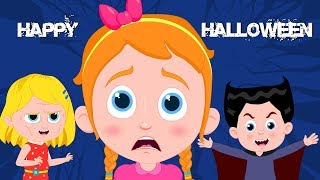 Happy Halloween Song | Schoolies Cartoons | Halloween Spooky Cartoons | Kids Channel