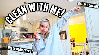 ALL DAY EXTREME CLEAN WITH ME | Getting rid of bad energy, mess and eating a lot.