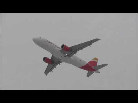 Storm Emma at Birmingham Airport on 02/03/2018