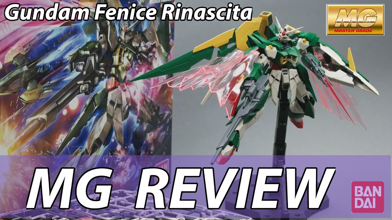 14 Gundam Fenice Rinascita Clear Color You Never Seen Before 9