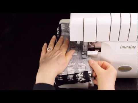 Оверлок и ткани
