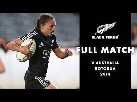 Download FULL MATCH: Black Ferns v Wallaroos (2014)