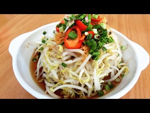 豆芽 Bean Sprouts Recipe: How to Make Mung Bean Sprouts Salad | Authentic Traditional Chinese Cooking