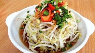 豆芽 Bean Sprouts Recipe: How To Make Mung Bean Sprouts Salad | Authentic Traditional Chinese Cooking