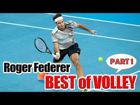 【テニス】フェデラーのボレーベストPart1!!ボレーのテクニックが衝撃的すぎる...!!【ATP】Roger Federer Best of Volley Technique!!