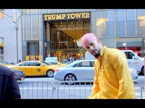 ARAB GUY GOES INSIDE THE TRUMP TOWER!!