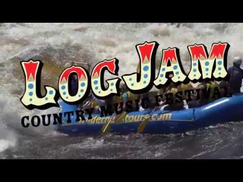 Log Jam Country Music Festival at Wilderness Tours