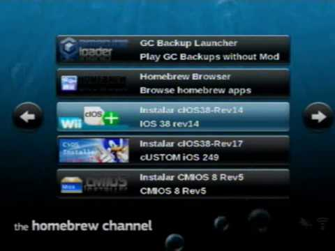 Homebrew Channel 1 0 7 e Wad Manager 1 7