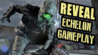 NEW 🔥 SPLINTER CELL 🔥 ECHELON OPERATOR GAMEPLAY | TOM CLANCY XDEFIANT (Game Reveal)
