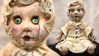 HAUNTED DOLL Cake! - Halloween Dress Rehearsal!!