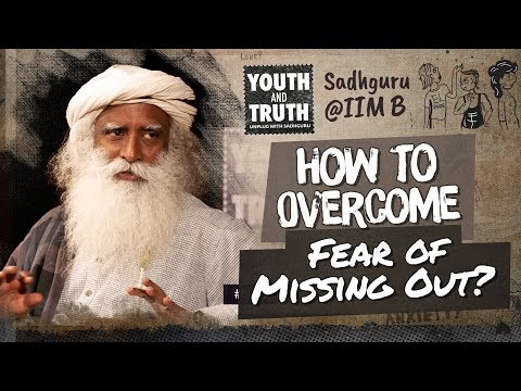 How to Overcome Fear Of Missing Out? #UnplugWithSadhguru