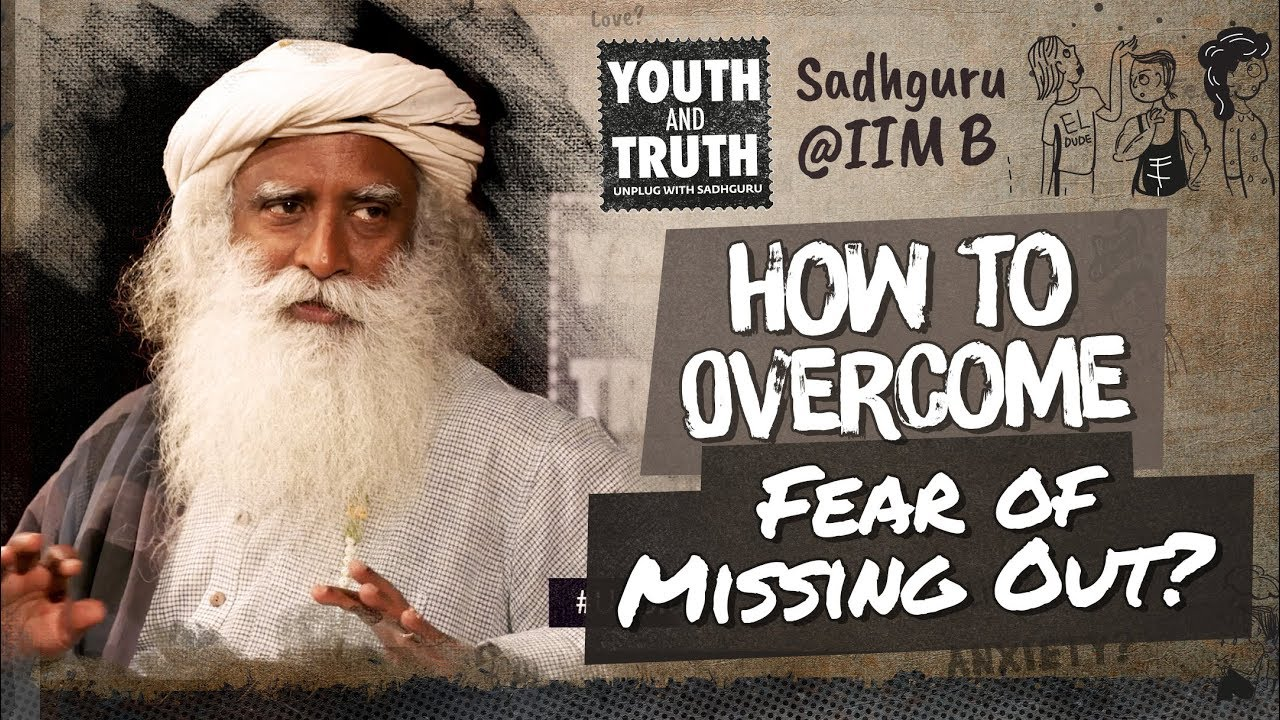 Sadhguru Explains What Fear Is to the Management Students at IIM #UnplugWithSadhguru