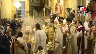 صلاة عيد القيامة المجيد بـ«الكنيسة المرقسية» بالأسكندرية