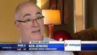 Ken Jenkins arrives back in the USA - March 2014