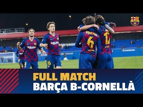 [PARTIDO COMPLETO] Barça B - Cornellà (3-3)