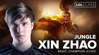 Jungle Xin Zhao Guide with OG Amazing - Season 6 | League of Legends