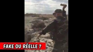 FAKE OU RÉELLE ? - IL ATTEINT LA LIMITE DE LA TERRE ? (MUR INVISIBLE) streaming