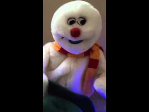 gemmy snowflake spinning frosty the snowman doovi
