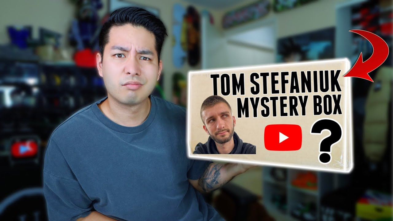 I Bought a Mystery Box From Tom Stefaniuk, This Is What I Got…