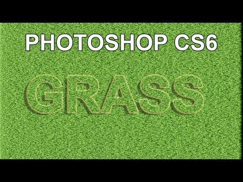 Grass Texture Photoshop - YouTube