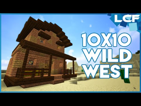 Minecraft Tutorial: Wild West Style House! (10x10)