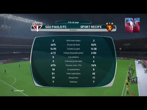São Paulo vs Sport - Campeonato Brasileiro Virtual - Wanted Games