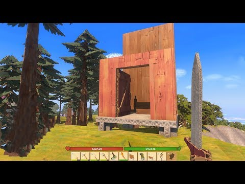 HOW TO BUILD a HOUSE using ONLY CARDBOARD! (CardLife)