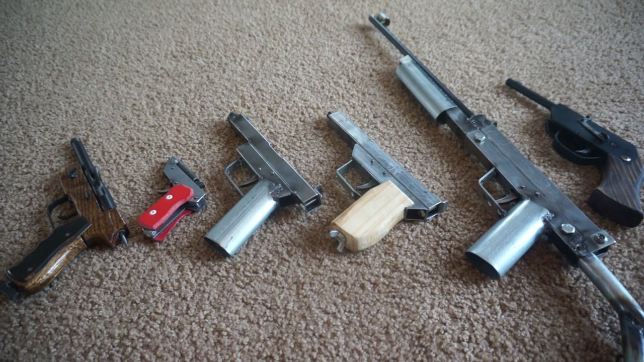 homemade guns, overview