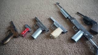 homemade guns, overview