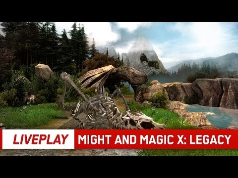 Might and Magic X: Legacy | LIVEPLAY