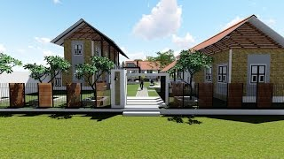 Restaurant  Exterior Design  Concept   ( Sri Lanka  ,  Lumion 3D )