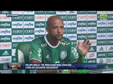 Neto Sobre Felipe Melo: é Um Exemplo Para O Futebol Brasileiro