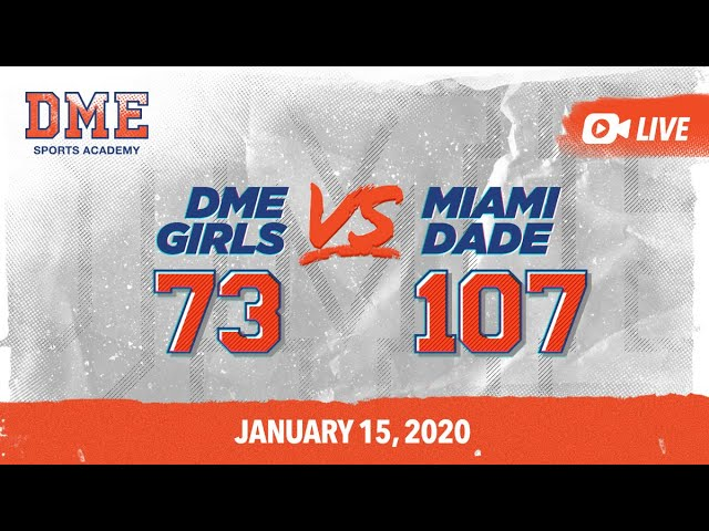 DME Girls vs Miami Dade Juco