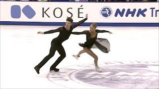 Россияне Александра Степанова и Иван Букин прошли в финал Гран при по фигурному катанию
