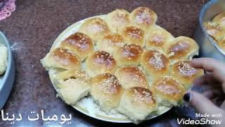 طريقه خليه النحل بحشو الشكولاته والجبنه بالمقادير المظبوطه