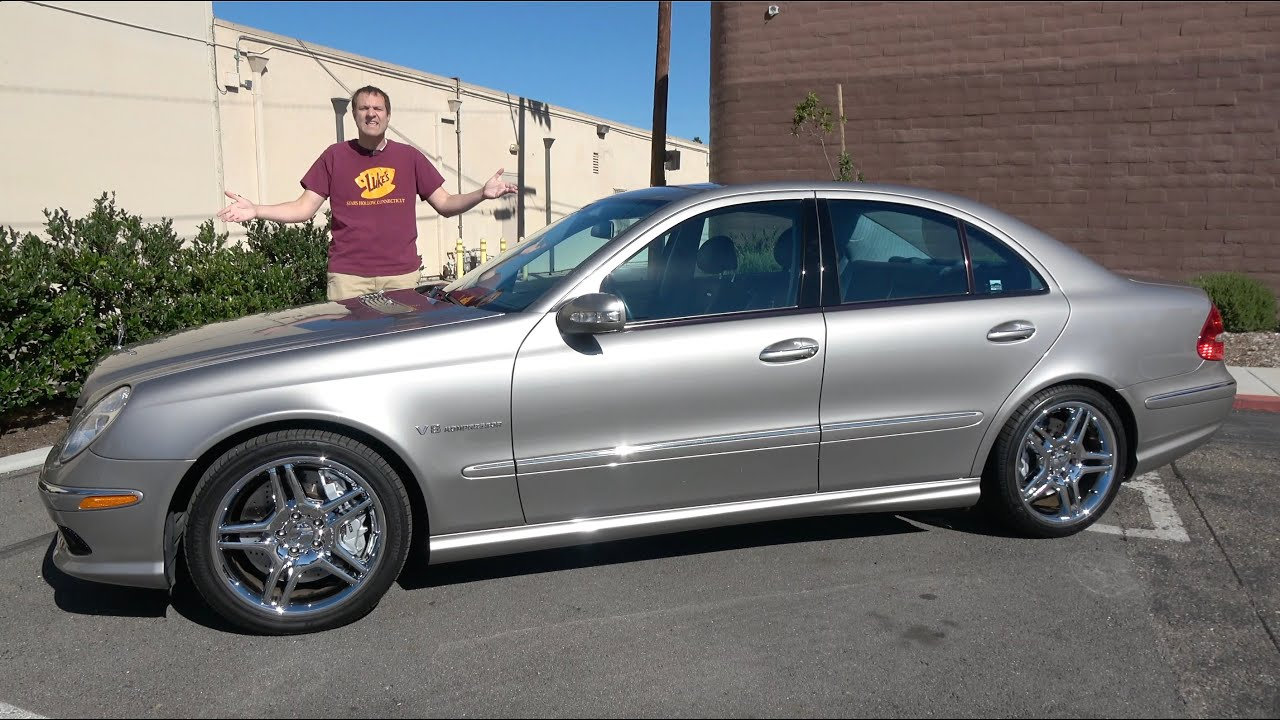 Download The 2004 Mercedes-Benz E55 AMG Started the Horsepower Wars